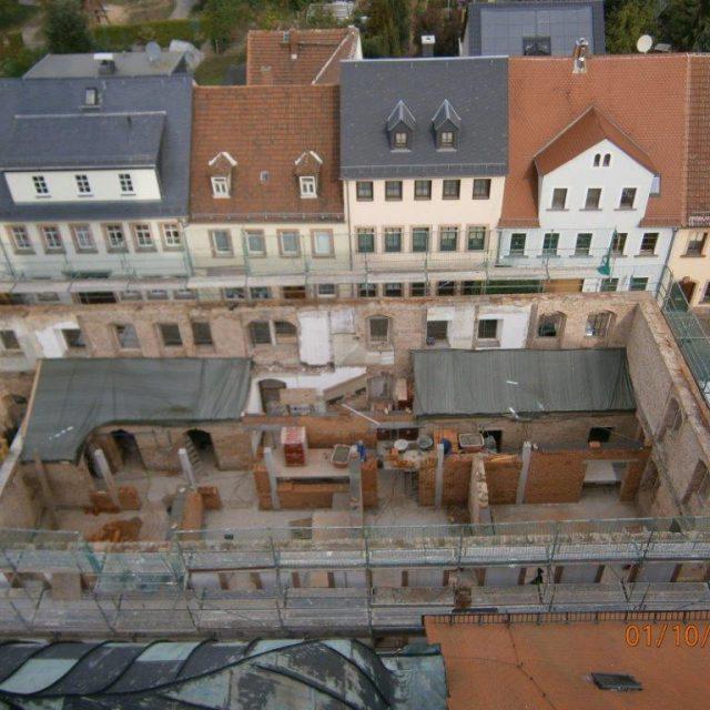 Sanierung Bibliothek Rochlitz