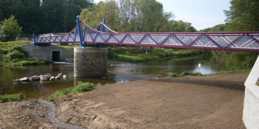 Teilersatzneubau der Brücke über die Pleiße in Werdau // Mai 2016 – April 2017