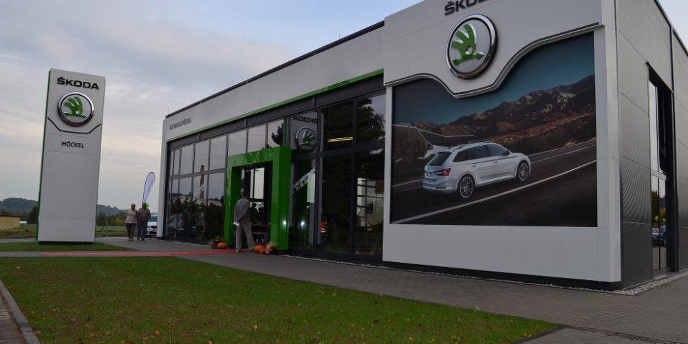 Neubau Skoda-Autohaus Rochlitz // 20.02.2016 – 16.09.2016