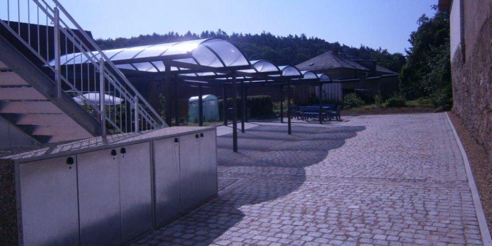 Neugestaltung Außenanlegen am Rathaus Nossen