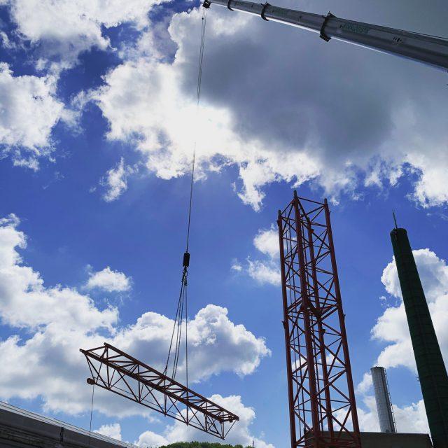 Industriebauprojekt