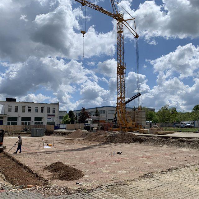 Neubau Polizei in Döbeln