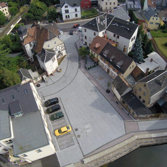 Instandsetzung Mühlplatz Rochlitz // Juni 2016 – April 2017