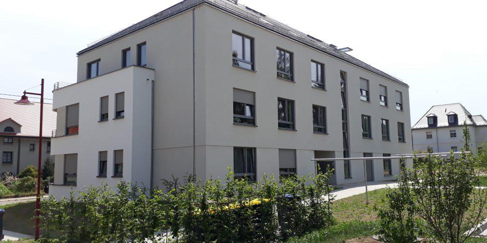 Neubau Mehrfamilienhaus in Rochlitz