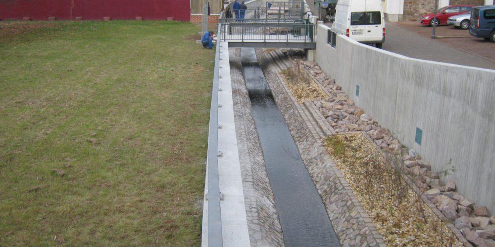 Sanierung und Umgestaltung Mühlgraben Penig, I. BA