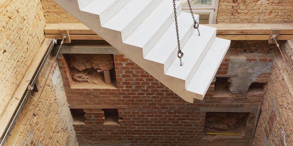 Umbau in Rochlitz