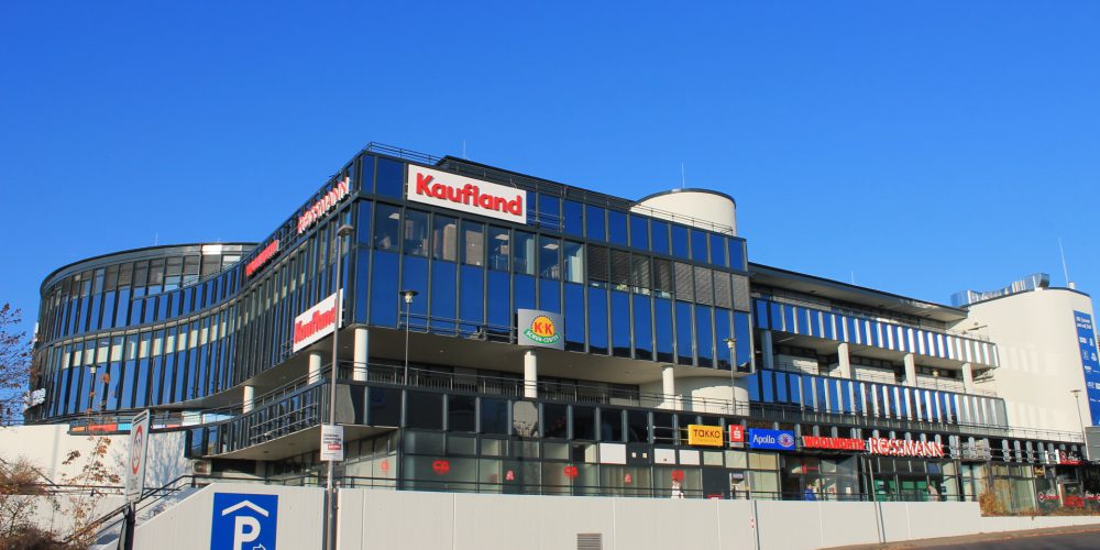 Revitalisierung Gorbitz Center zum Dresden Karree