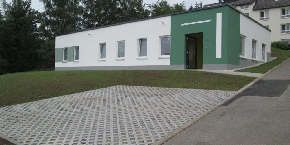 Neubau Physiotherapie in Stein