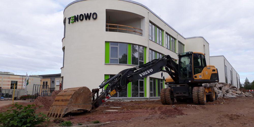 TENOWO Mittweida – Neubau Verwaltung/Technikum