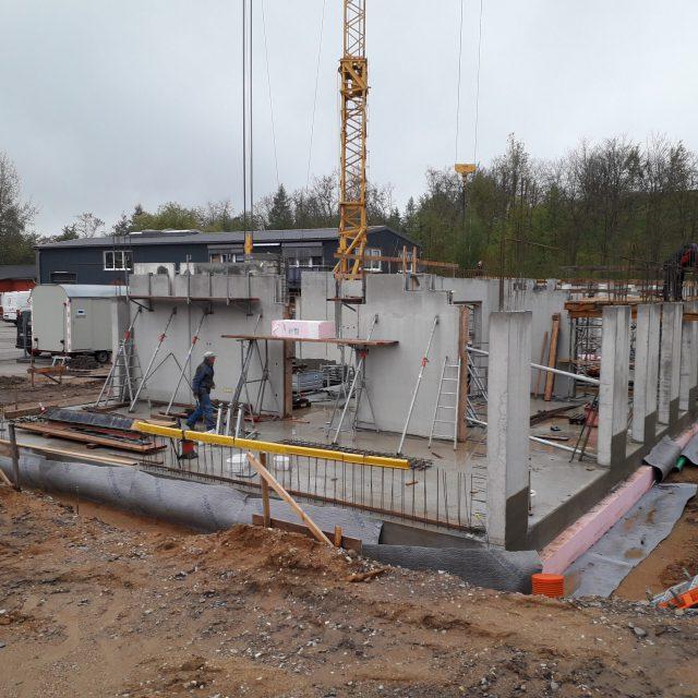 Neubau Bürogebäude in Wechselburg