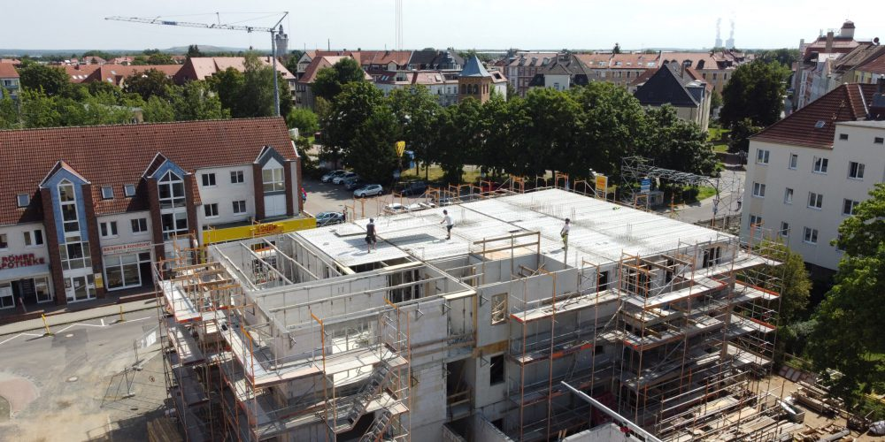 Neubau Sonnesiedlung Markkleeberg